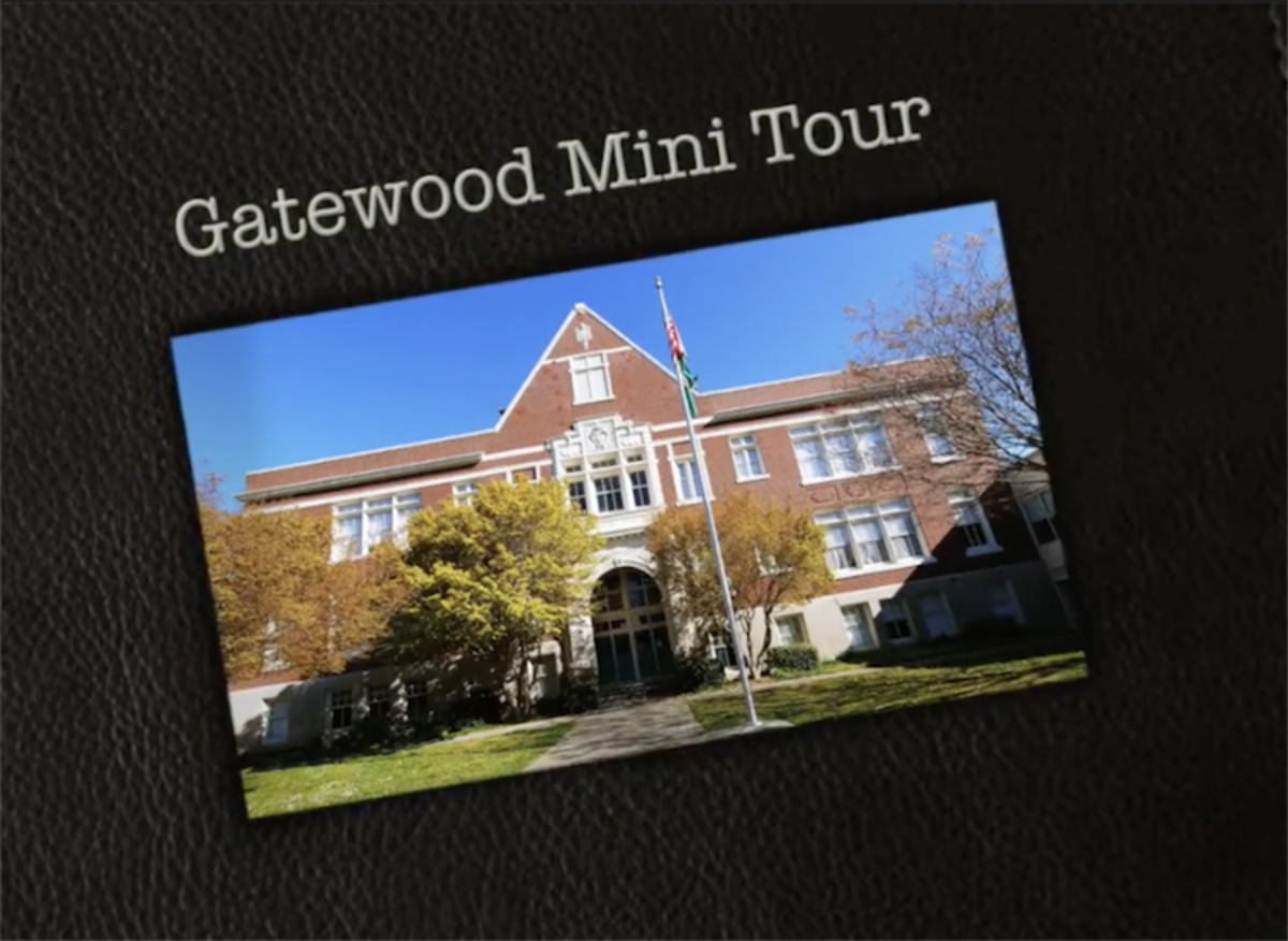 Gatewood Mini Tour with an image of the school